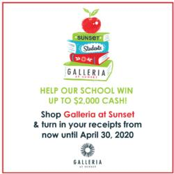 Holiday Shopping at the Galleria Mall helps to support Pinecrest Inspirada!